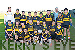 Dr Crokes under age player who played Ballinacourty at half time during their Munster Championship quarter final clash in Dungarvan on Sunday