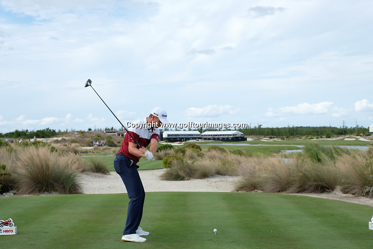 Justin Rose during the second round of the 2018 Hero World Challenge being played at The Albany Resort, Bahamas.<br />  Picture Stuart Adams, www.golftourimages.com: \30/11/2018\