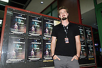 Montreal QC CANADA - July 26 2011 - Fantasia Film Festival -  Adam Wingard, Director, An Horrible Way to Die (L)