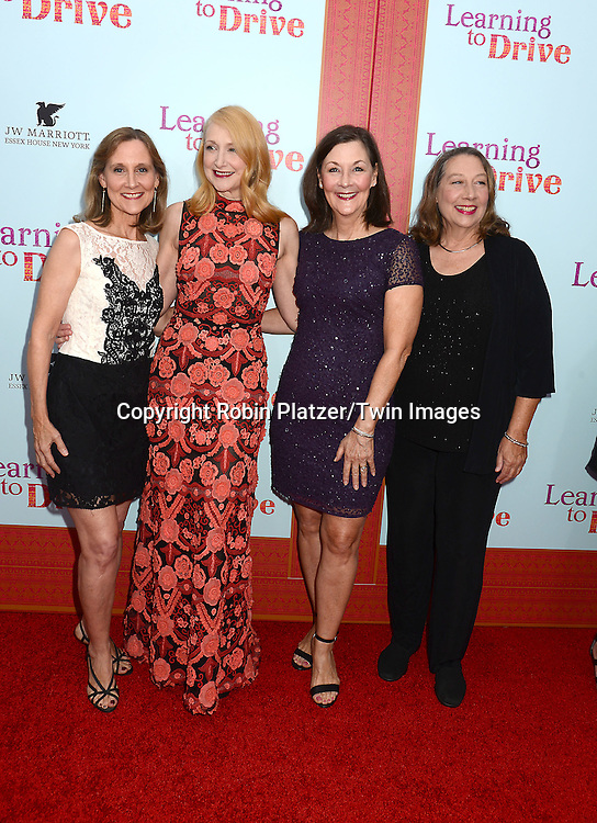 Patricia Clarkson  attend the NewYork VIP Premiere of &quot;Learning to Drive&quot;<br /> on August 17, 2015 at The Paris Theatre in New York City, New York, USA. <br /> <br /> photo by Robin Platzer/Twin Images<br />  <br /> phone number 212-935-0770