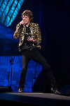 The Rolling Stones perform in concert at the MGM Grand Garden Arena on Saturday, May 11, 2013 in Las Vegas. (Photo by Al Powers/Powers Imagery/Invision/AP)
