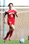 27 November 2011: Indiana's Nikita Kotlov. The University of North Carolina Tar Heels defeated the Indiana University Hoosiers 1-0 in overtime at Fetzer Field in Chapel Hill, North Carolina in an NCAA Men's Soccer Tournament third round game.