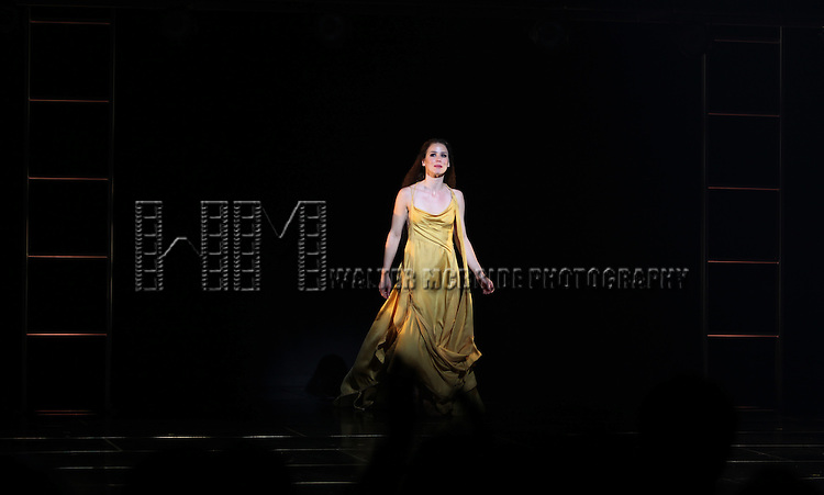 Chilina Kennedy.during the Opening Night Performance Curtain Call for 'Jesus Christ Superstar' at the Neil Simon Theatre in New York City on March 22, 2012.