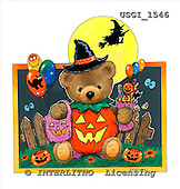 GIORDANO, CUTE ANIMALS, LUSTIGE TIERE, ANIMALITOS DIVERTIDOS, Halloween, paintings+++++,USGI1546,#AC#