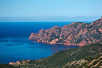 Europe/France/2A/Corse du Sud/Serriera: Golfe de Girolata - Patrimoine Mondial UNESCO