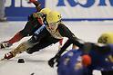 Yuzo Takamido (JPN), December 4, 2011 - Short Track : Korean Air ISU World Cup Short Track Speed 2011, Men's 1000m short trackat 2 Semi finals, Nippon Gaishi Arena, Nagoya, Aichi, Japan. (Photo by Akihiro Sugimoto/AFLO SPORT) [1080]