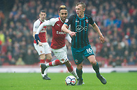 Southampton's James Ward-Prowse during the EPL - Premier League match between Arsenal and Southampton at the Emirates Stadium, London, England on 8 April 2018. Photo by Andrew Aleksiejczuk / PRiME Media Images.