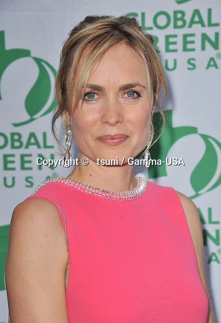 Radha Mitchell  attends Global Green USA s Millennium Awards in Santa Monica CA benefiting the Places the people and the planet in need.
