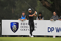 Joakim Lagergren (SWE) on the 18th tee during Round 3 of the UBS Hong Kong Open, at Hong Kong golf club, Fanling, Hong Kong. 25/11/2017<br /> Picture: Golffile | Thos Caffrey<br /> <br /> <br /> All photo usage must carry mandatory copyright credit     (&copy; Golffile | Thos Caffrey)