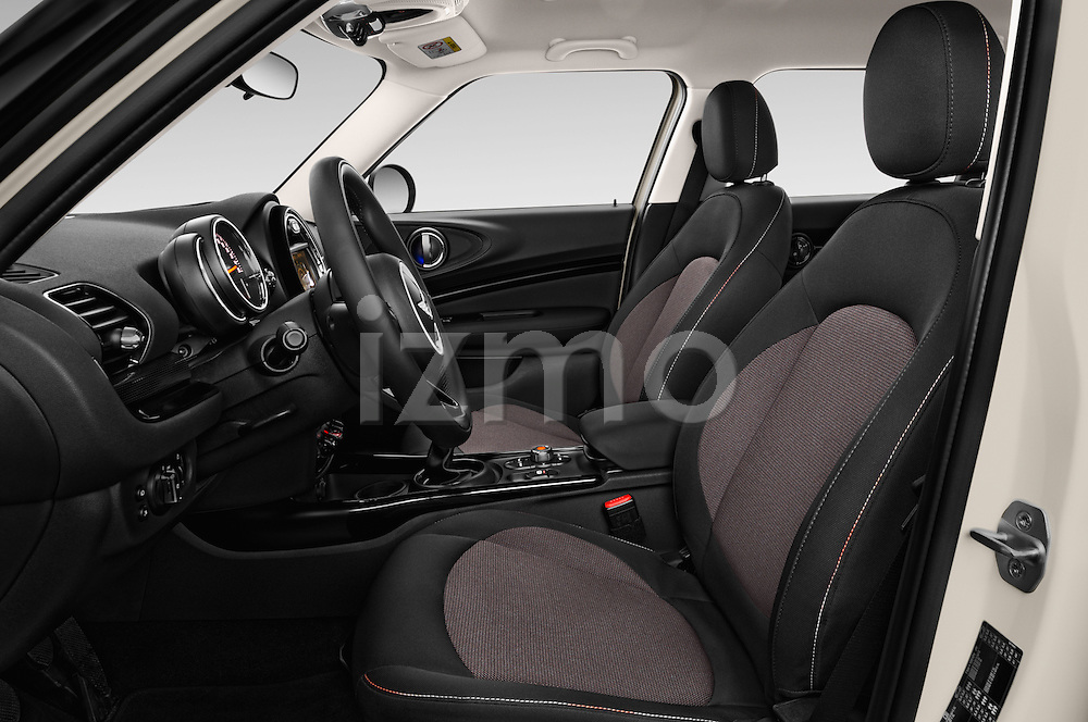 Front seat view of 2016 MINI Clubman One 5 Door Wagon Front Seat  car photos
