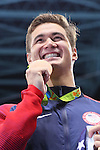 Nathan Adrian (USA), <br /> AUGUST 12, 2016 - Swimming : <br /> Men's 50m Freestyle Final <br /> at Olympic Aquatics Stadium <br /> during the Rio 2016 Olympic Games in Rio de Janeiro, Brazil. <br /> (Photo by Yohei Osada/AFLO SPORT)