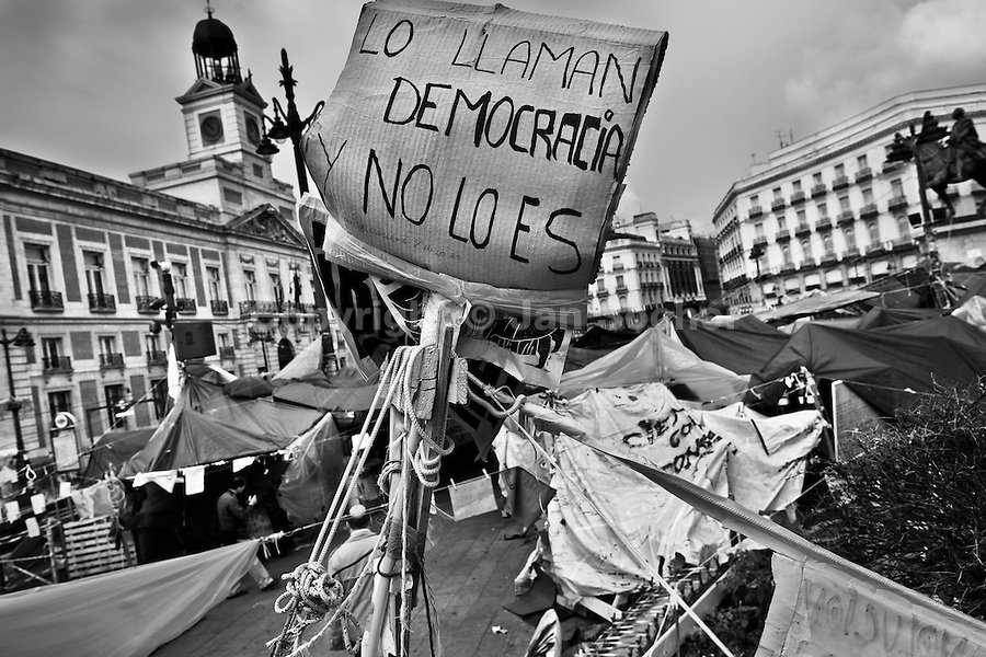 Image result for spanish revolution 2011