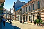 Ulica Jagiellońska w Nowym Sączu, Polska<br /> Jagiellonian Street in Nowy Sącz, Poland