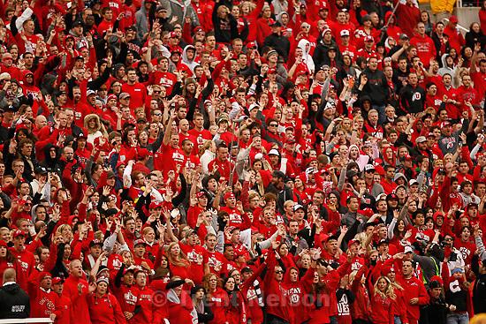 Trent Nelson  |  The Salt Lake Tribune.fans. during the second half, Utah vs. Arizona State, college football at Rice-Eccles Stadium in Salt Lake City, Utah, Saturday, October 8, 2011.