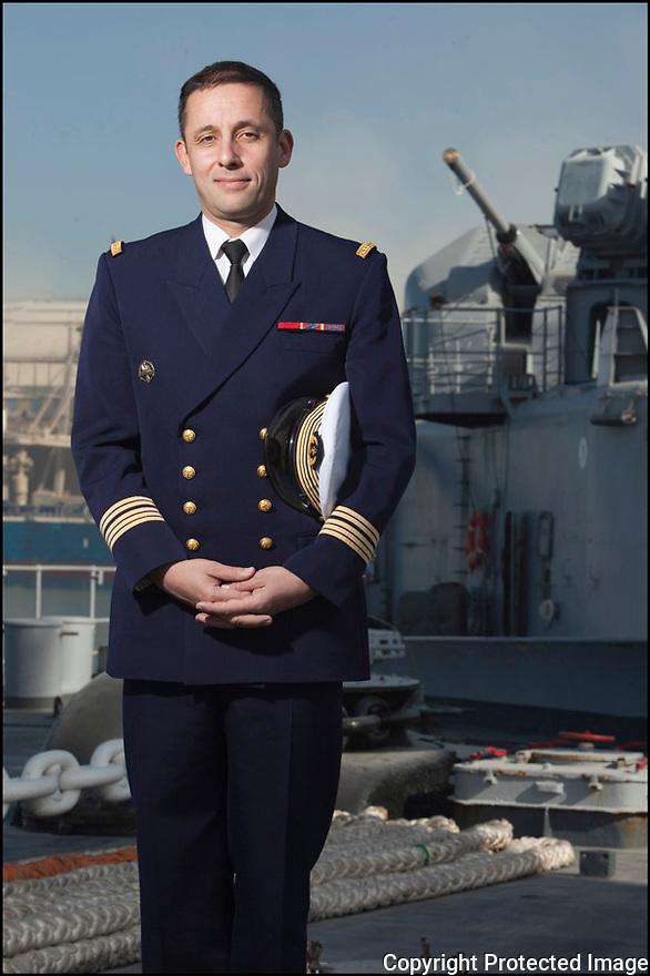 Décembre 2009/ Océan Atlantique/ Casablanca. Commandant Augier (Le Pacha)