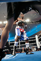 MIAMI BEACH, FL - MAY 22, 2009: The Legendary Fontainebleau Hotel brings back World Class Boxing for the first time in 30 years to Miami Beach. (Photo by Jesus Aranguren/RRA-MEDIA)