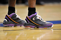 Shaquile O' Neal's size 23 shoes.<br /> <br /> Copyright Alan P. Santos