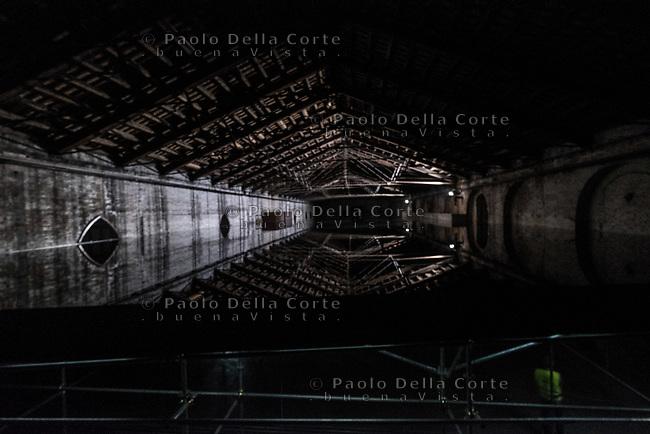 """Padiglione Italia - Giorgio Andreotta Calò """"Senza titolo""""."""