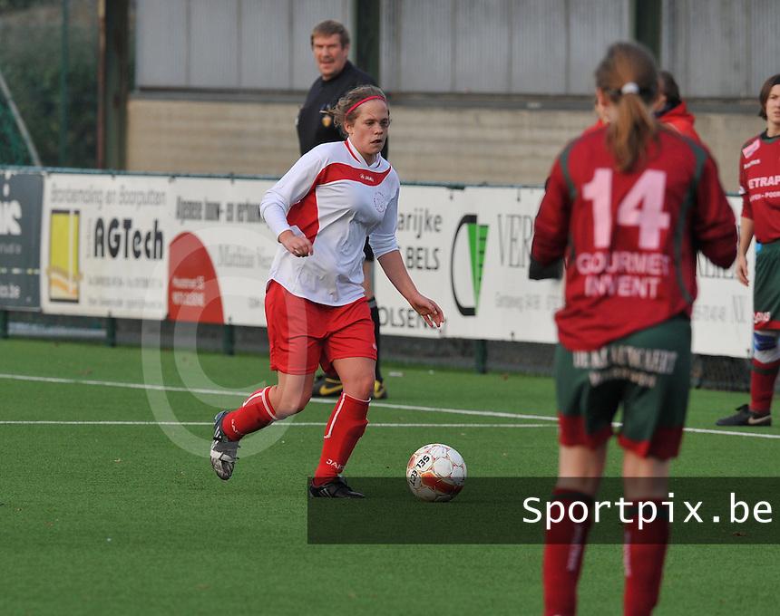 Dames Zulte - Waregem - Femina White Star Woluwe : Olivia Philippart de Foy.foto DAVID CATRY / Vrouwenteam.be