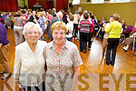 Attending the Positive Ageing Day at Knocknagoshel Community Centre on Friday wereAttending the Positive Ageing Day at Knocknagoshel Community Centre on Friday were Nellie O'Sullivan from Castleisland and Maisie McCarthy from Currow.
