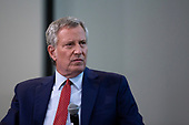 New York City Mayor and 2020 Presidential candidate Bill de Blasio holds a public forum at the National Housing Center in Washington D.C., U.S. on July 23, 2019.<br /> Credit: Stefani Reynolds / CNP<br /> (RESTRICTION: NO New York or New Jersey Newspapers or newspapers within a 75 mile radius of New York City)
