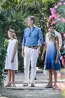 AUG 08 Spanish Royals visit Son Marroig