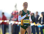 BROOKINGS, SD - OCTOBER 31:  Erin Teschuk from North Dakota State leads the 2015 Summit League Cross Country Championships at Edgebrook Golf Course in Brookings. (Photo by Dave Eggen/Inertia) (Photo by Dave Eggen/Inertia)