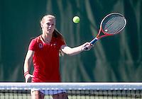 Caroline Doyle, with the Stanford Women's Tennis team. Photo taken on Monday, September 23, 2013
