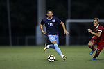 CARY, NC - SEPTEMBER 29: UNC's Zach Wright. The University of North Carolina Tar Heels hosted the North Carolina State University Wolfpack on September 29, 2017 at Koka Booth Field at WakeMed Soccer Park in Cary, NC in a Division I college soccer game.