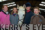 Pictured at the launch the Kerry Pony Club's dressage competition in Woodlands on Saturday were Rebecca O'Connell, Liah Knight, Katie Moffat and Rowan Hegarty....