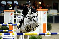 ZUIDBROEK - Paardensport, ICCH Zuidbroek, springen internationaal 1.40 klassiek, 03-01-2019, Suzanne Tepper met Herciro Van t Kiezelhof
