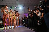 SÃO PAULO, SP, 09.11.2015 - Candidatas durante a quinta edição do concurso Miss Bumbum no bairro de Perdizes na região oeste da cidade de São Paulo nesta segunda-feira, 09.  (Foto: William Volcov/Brazil Photo Press)