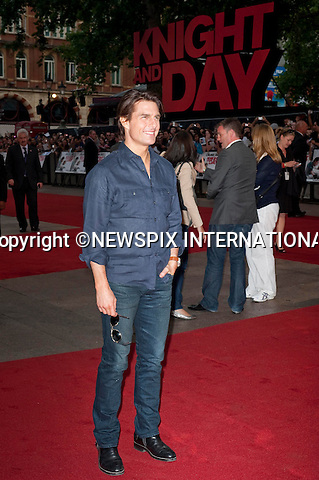 "TOM CRUISE.Attend the UK premiere of Knight and Day, London_England_22/07/2010..Mandatory Photo Credit: ©Dias/Newspix International..**ALL FEES PAYABLE TO: ""NEWSPIX INTERNATIONAL""**..PHOTO CREDIT MANDATORY!!: NEWSPIX INTERNATIONAL(Failure to credit will incur a surcharge of 100% of reproduction fees)..IMMEDIATE CONFIRMATION OF USAGE REQUIRED:.Newspix International, 31 Chinnery Hill, Bishop's Stortford, ENGLAND CM23 3PS.Tel:+441279 324672  ; Fax: +441279656877.Mobile:  0777568 1153.e-mail: info@newspixinternational.co.uk"