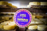 Cheese Factory on the farm at Hacienda Zuleta, Imbabura, Ecuador, South America
