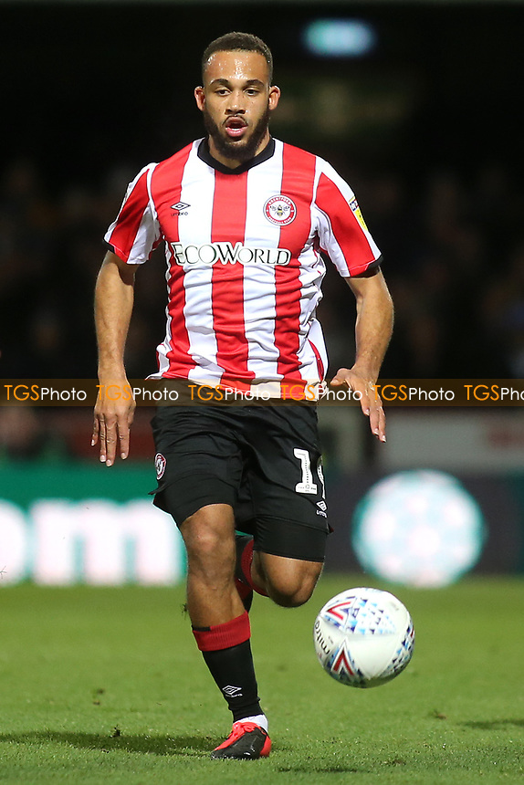 Bryan Mbeumo of Brentford in action during Brentford vs Leeds United, Sky Bet EFL Championship Football at Griffin Park on 11th February 2020