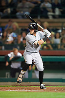 Glendale Desert Dogs Trey Michalczewski (8), of the Chicago White Sox organization, during a game against the Scottsdale Scorpions on October 14, 2016 at Scottsdale Stadium in Scottsdale, Arizona.  Scottsdale defeated Glendale 8-7.  (Mike Janes/Four Seam Images)