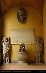 Monument to Pius IX Hospital Santo Spirito in Sassia Sistine Lane Rome