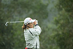 Hae Rym Kim of South Korea tees off at the 2nd hole during Round 3 of the World Ladies Championship 2016 on 12 March 2016 at Mission Hills Olazabal Golf Course in Dongguan, China. Photo by Victor Fraile / Power Sport Images