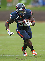 Virginia running back Kevin Parks (25) Duke defeated Virginia 35-22 at Scott Stadium in Charlottesville, VA. . Photo/Andrew Shurtleff