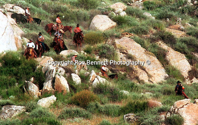 Cowboys roundup California, cowboy, cowboys, roundup, wild west,  California, West Coast of US, Golden State, 31st State, California, Fine Art Photography by Ron Bennett, Fine Art, Fine Art photography, Art Photography, Copyright RonBennettPhotography.com ©