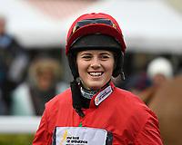 Jockey Bridget Andrews during Horse Racing at Wincanton Racecourse on 5th December 2019