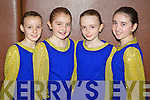 Pictured at the Comhaltas dancing finals in Currow on Sunday were the Spa 4 hand Killarney set dancers were l-r: Karis Koschan, Rachel Moynihan, Síona Moynihan and Ava O'Sullivan.
