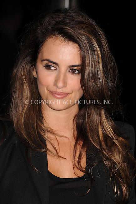 WWW.ACEPIXS.COM . . . . . ....November 15 2009, New York City....Actress Penelope Cruz arriving at The Cinema Society & A Diamond Is Forever screening of 'The Private Lives Of Pippa Lee' at AMC Loews 19th Street on November 15, 2009 in New York City.....Please byline: KRISTIN CALLAHAN - ACEPIXS.COM.. . . . . . ..Ace Pictures, Inc:  ..(212) 243-8787 or (646) 679 0430..e-mail: picturedesk@acepixs.com..web: http://www.acepixs.com
