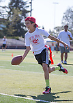 After School Athletics Annual Flag Football camp at Gunn HS in Palo Alto, July 29, 2015