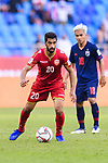 Sami Mohamed Alhusaini of Bahrain (L) in action during the AFC Asian Cup UAE 2019 Group A match between Bahrain (BHR) and Thailand (THA) at Al Maktoum Stadium on 10 January 2019 in Dubai, United Arab Emirates. Photo by Marcio Rodrigo Machado / Power Sport Images