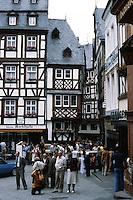Bernkastel: Portion of Platz. Photo '94.