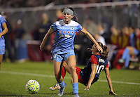 Boyds, MD - Friday Sept. 30, 2016: Arin Gilliland during a National Women's Soccer League (NWSL) semi-finals match between the Washington Spirit and the Chicago Red Stars at Maureen Hendricks Field, Maryland SoccerPlex. The Washington Spirit won 2-1 in overtime.