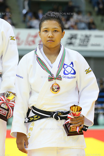 Rui Takahashi, NOVEMBER 7, 2015 - Judo : Kodokan Cup 2015 Women's -78kgl at Chiba Port Arena, Chiba, Japan. (Photo by Yohei Osada/AFLO SPORT)