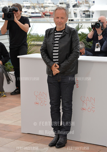 French actor Fabrice Luchini at the photocall for &quot;Slack Bay&quot; (&quot;Ma Loute&quot;) at the 69th Festival de Cannes.<br /> May 13, 2016  Cannes, France<br /> Picture: Paul Smith / Featureflash