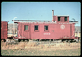 D&amp;RGW caboose #0589<br /> D&amp;RGW